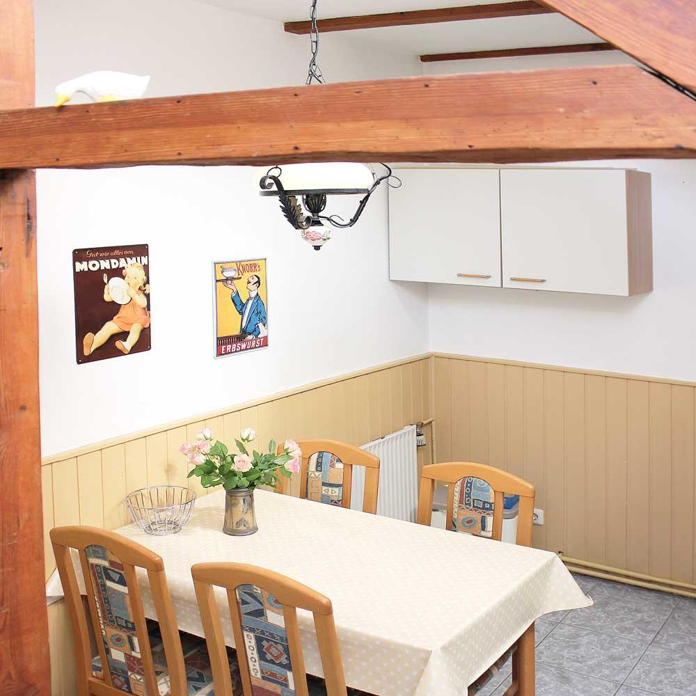 Küche der Ferienwohnung Heunergott (bis 6 Pers.)